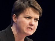 The Scottish Government's scheme for appointing a 'named person' for each child could result in tragedy, Conservative leader Ruth Davidson warns