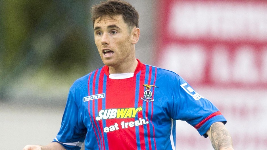 Greg Tansey netted from the spot against Dundee.