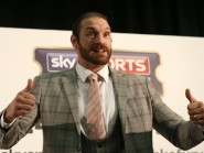 Tyson Fury, pictured, feels he is tailor-made to cause problems for Wladimir Klitschko