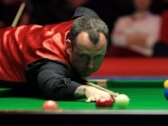 Mark Williams is through to the second round in York