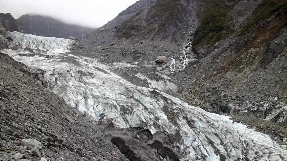 A slow moving glacier...