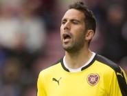 Hearts' Neil Alexander claimed he was fouled before Motherwell's opener