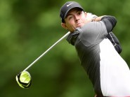 Rory McIlroy fired eight birdies and one bogey in a third-round 65 on Saturday
