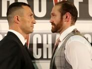 Wladimir Klitschko and Tyson Fury are all set for their Dusseldorf showdown