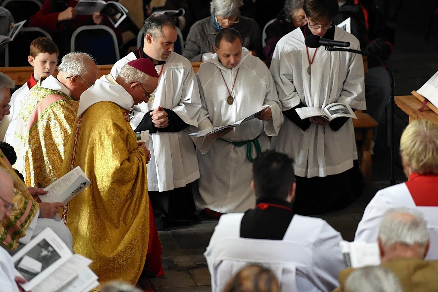 Re-Dedication of Pluscarden Abbey. Picture by Gordon Lennox 05/11/2015