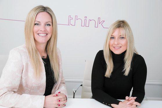 Annabel Sall, CEO and Rachel Creegan, Managing Director, at Aberdeen firm ThinkPR