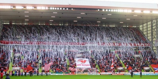 Stephen has produced a number of impressive displays for the Dons, both at Pittodrie and further afield