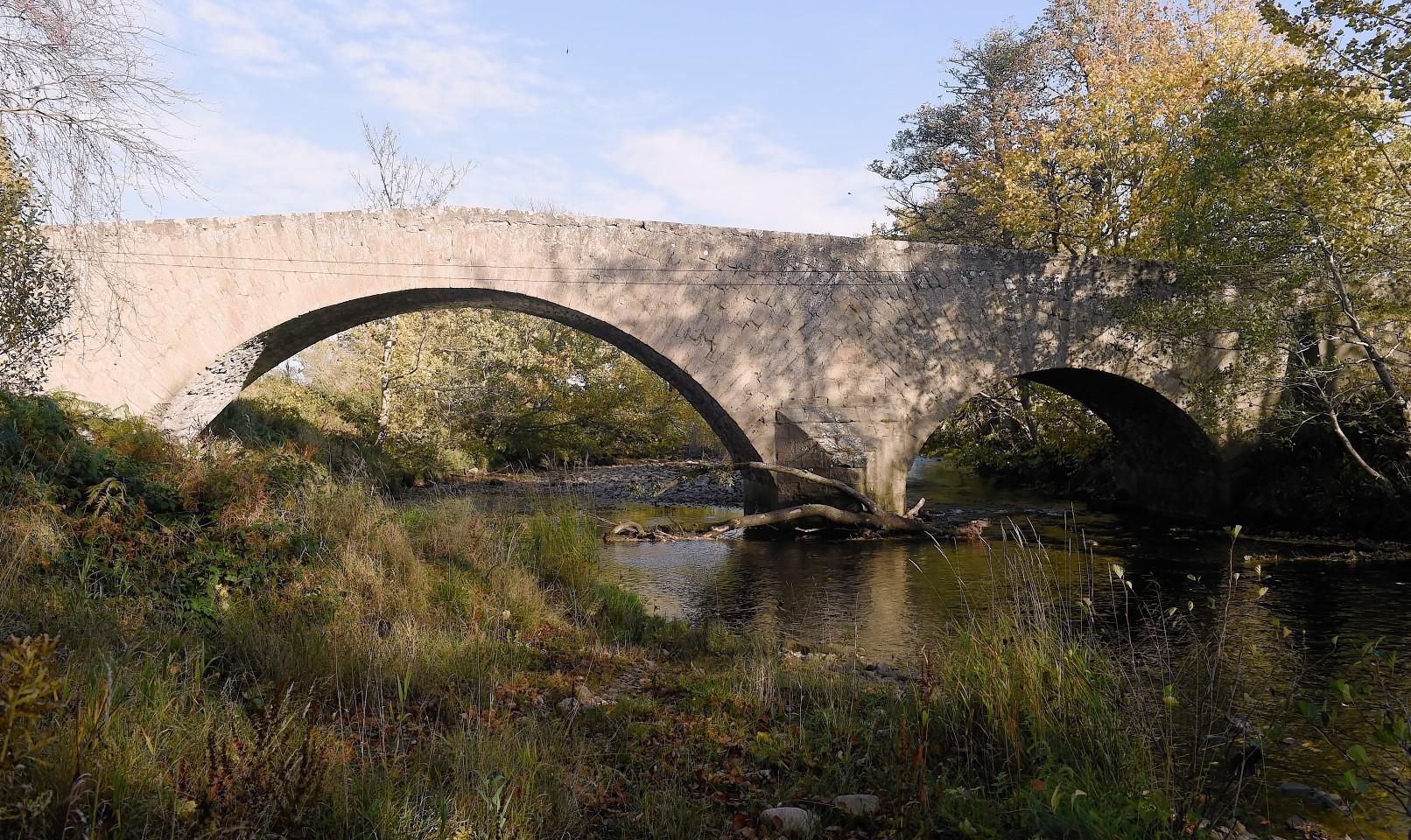 The White Bridge between Clephanton and Cawdor