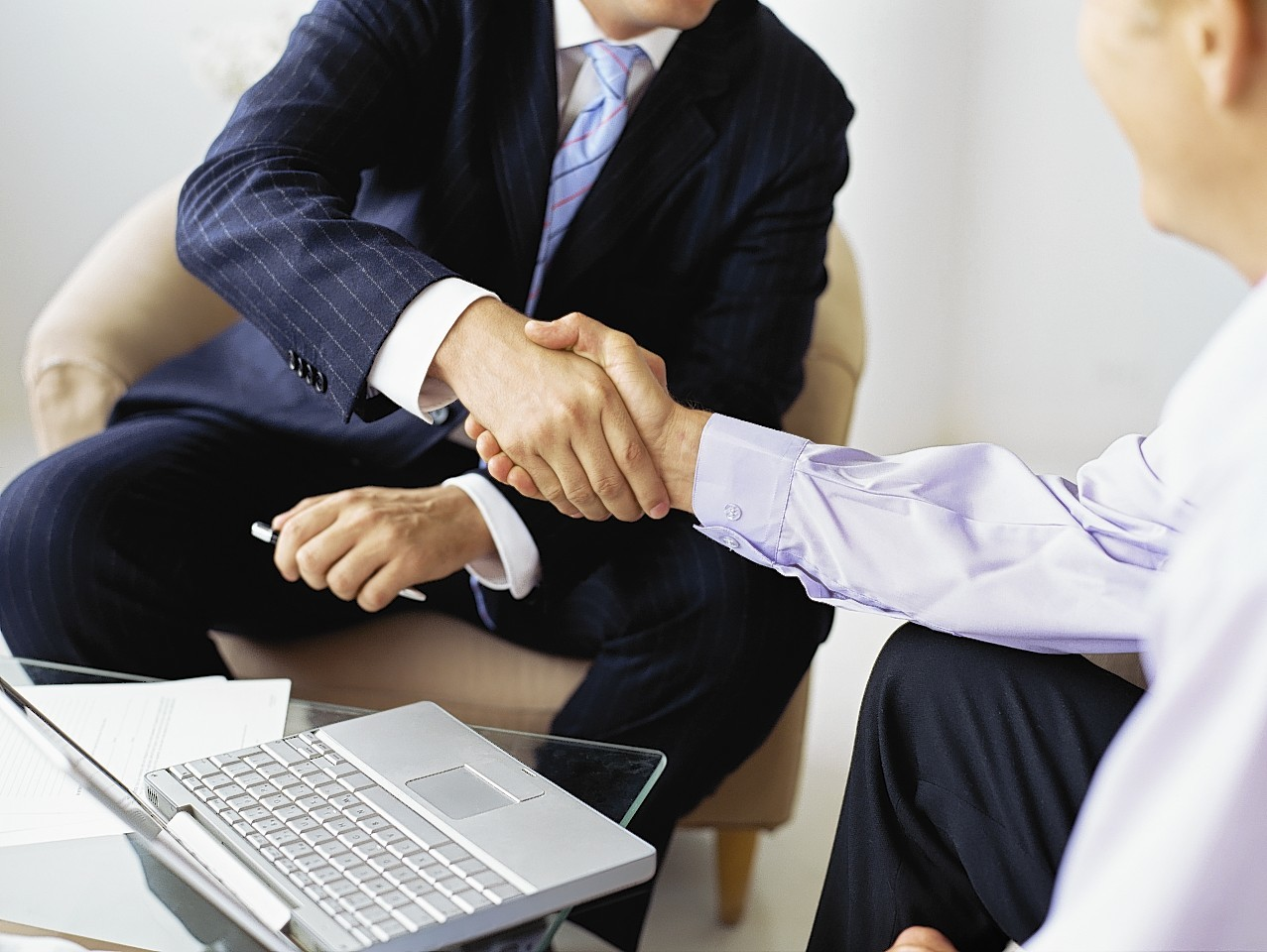Shaking hands on a pre-pack deal after a  firm goes bust  often causes controvery