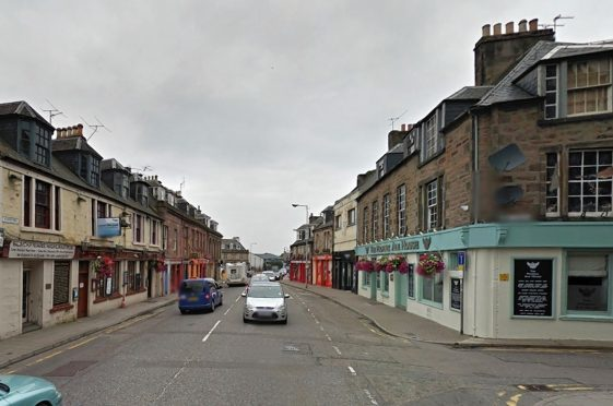 Academy Street in Inverness