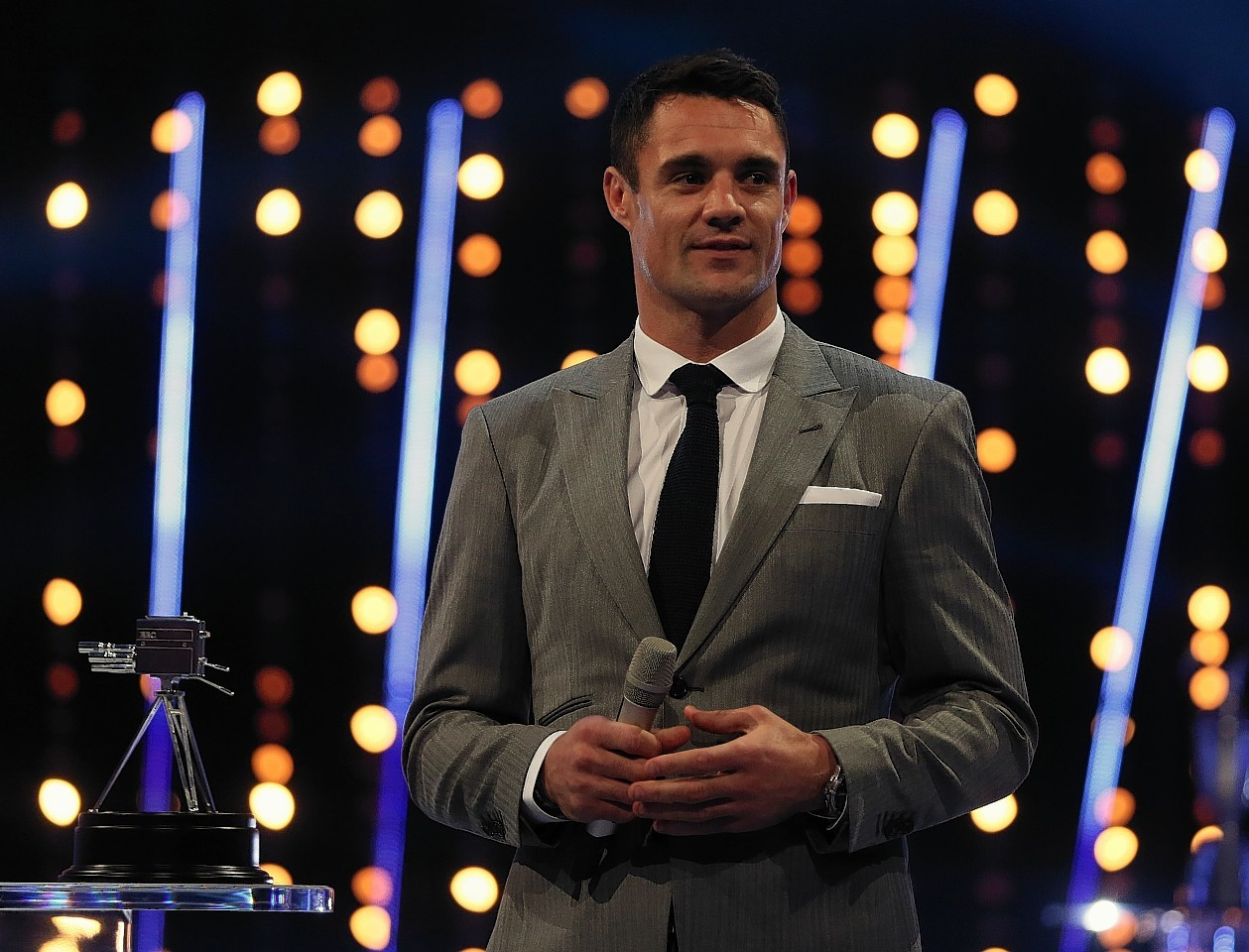 Winner of Overseas Sports Personality of the Year, Dan Carter