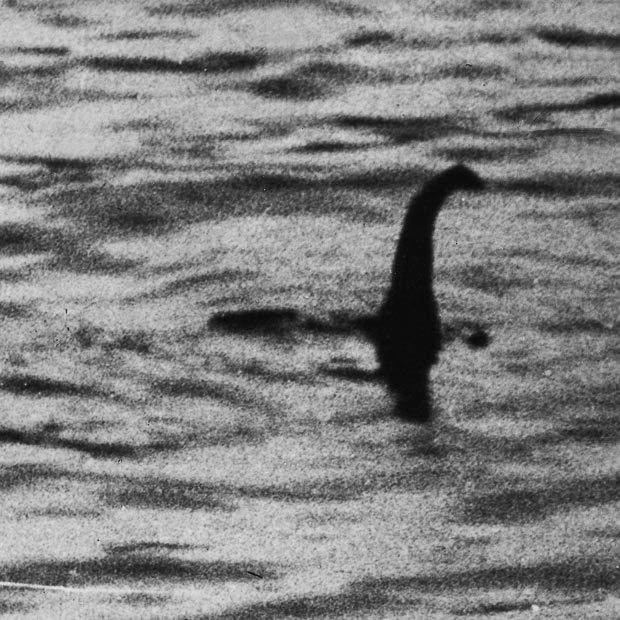 Famous sighting of the Loch Ness Monster