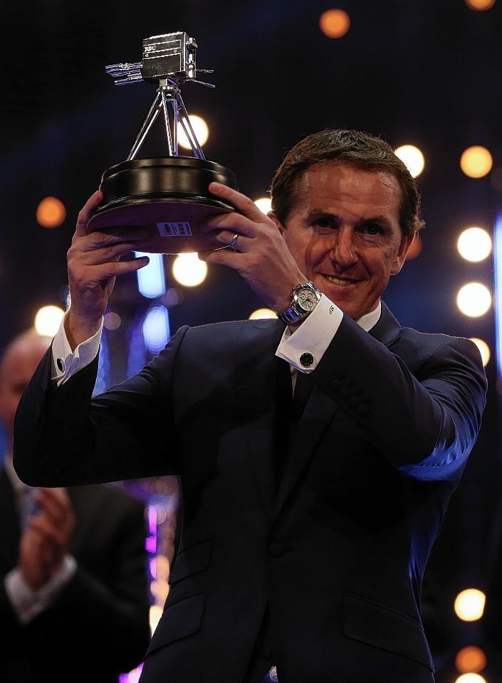 Winner of the Lifetime Achievement Award, Tony McCoy