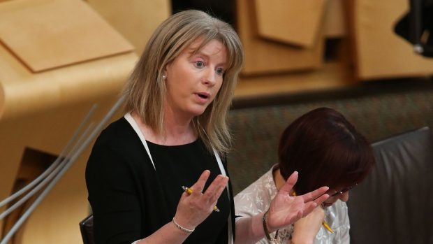 Shona Robison said so-called bed blocking remained an issue in the Scottish NHS