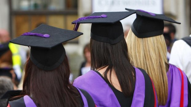 Universities in the north and north-east will lose millions of pounds