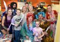 Cast members of Aberdeen's Peter Pan panto at HMT