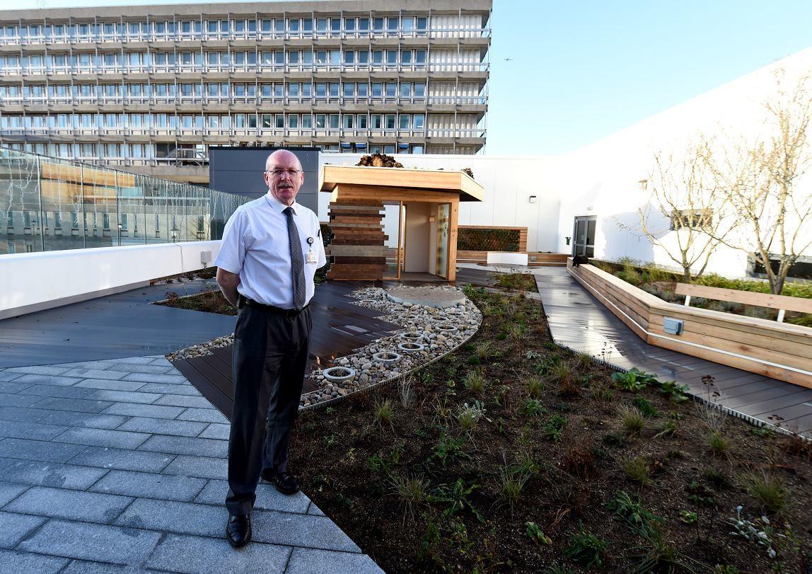 VIDEO Take A Look Round Aberdeen Hospitalu0026#39;s Stunning New Rooftop Garden | Press And Journal