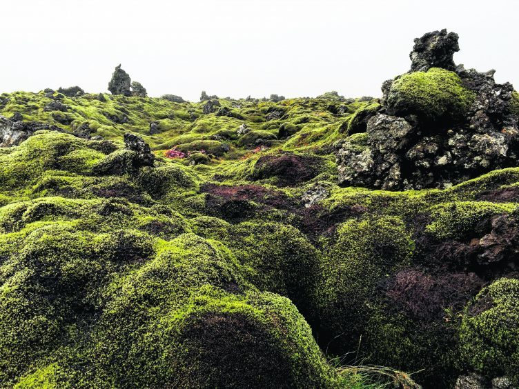 Leidarendi lava tubes outside Reykjavik