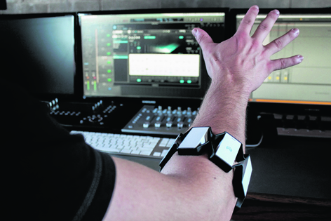 The Myo Gesture Control Armband really is something special