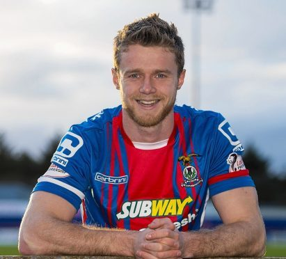 Alex Fisher scored twice for Inverness