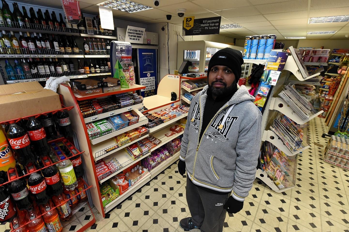 Urquhart Road shop owner Thengavelavthem Sivakmur