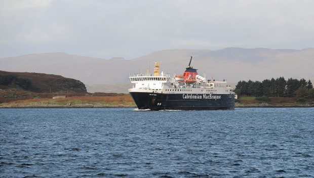 The Isle of Mull is one of the older vessels of the government's fleet.