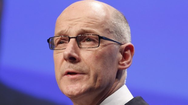 Deputy First Minister Mr Swinney also announced an extra £80 million investment in education