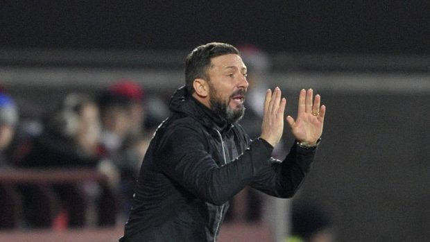 Aberdeen manager Derek McInnes is looking for an improved display.
