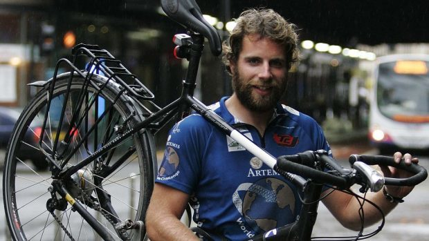 Mark Beaumont will join more than 100 other participants from around the UK to raise funds for research into myeloma