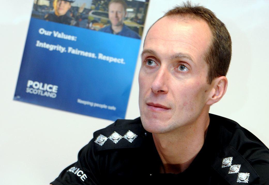 Top Aberdeenshire police officer pays tribute to staff and ...