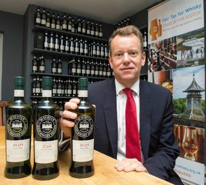 CEO of The Scotch Whisky Association David Frost