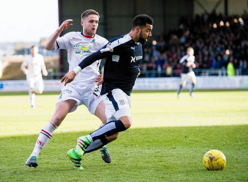 Danny Devine is one of several Caley Thistle players who has been offered a new contract.