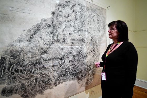 James Robertson's controversial map of Aberdeenshire