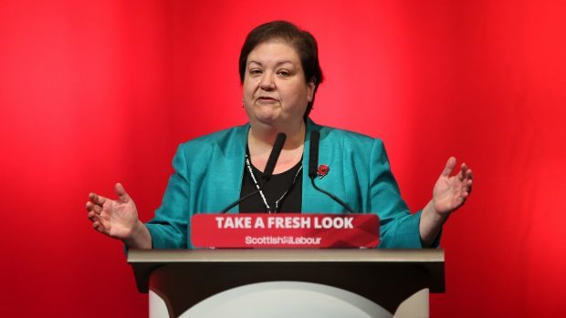 Jackie Baillie made the announcement amid bad polling for Labour