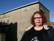 Hayley Green said the former public toilet was 'unique and quirky'