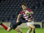 Adam Hastings, with ball, is set to start for Bath against Worcester