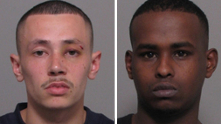 Both Ameen Hassan Jogee, left, and Mohammed Adnam Hirsi were jailed over the death of former policeman Paul Fyfe (Leicestershire Police/PA)