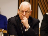 Andrew Flanagan said a long-term strategy would be developed by the end of March (PA/Scottish Parliament)
