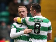 Leigh Griffiths has his eyes firmly on Celtic's progress