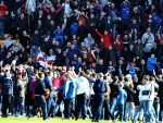 Motherwell could face sanctions over the play-off pitch invasion