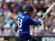 Jos Buttler's power hitting carried England to the victory line