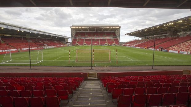Pittodrie stadium as it is today