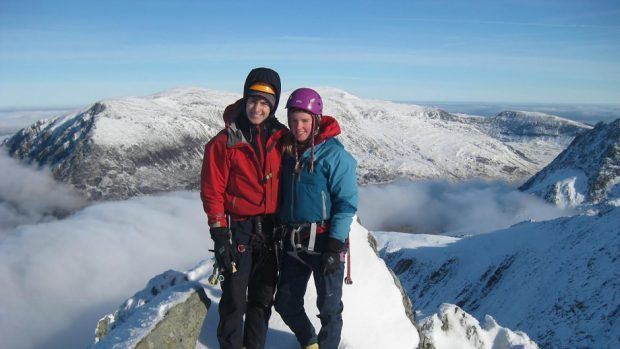 Missing climbers Rachel Slater and Tim Newton