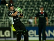 New Zealand's Brendon McCullum exited one-day internationals in style