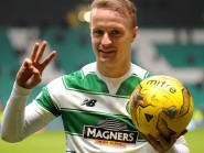 Celtic striker Leigh Griffiths is wary of the threat of Greenock Morton