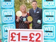 Deacon Blue's Ricky Ross and broadcaster Michelle McManus launched this year's Lent appeal (PA/Sciaf)