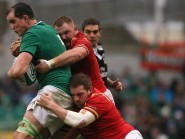 Devin Toner, left, has admitted Ireland are now relying on favours from their rivals in their bid for a third-straight RBS 6 Nations title