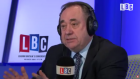 Alex Salmond at the LBC phone-in