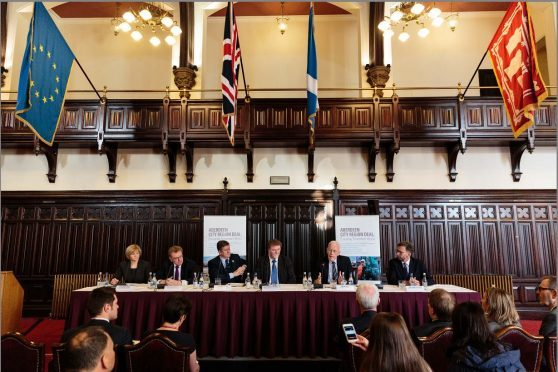 The city region deal signing ceremony