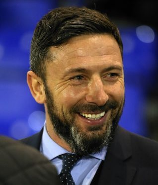 Derek McInnes will be e